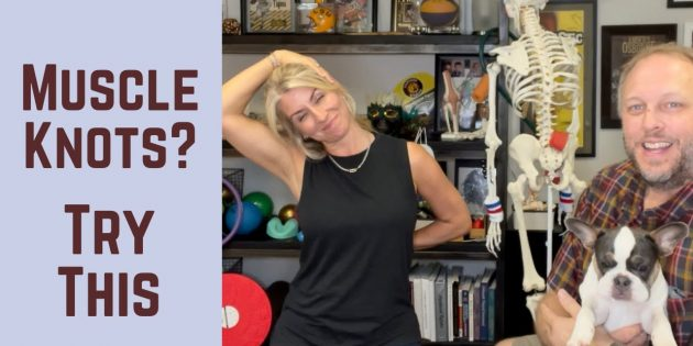3 Tips To Release Muscle Knots In The Neck