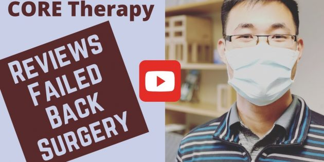 CORE Therapy And Pilates Reviews 3 Common Reasons for Failed Back Surgeries