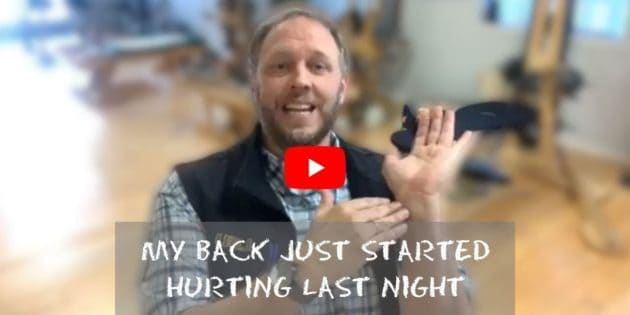 Don't Just Rest While Having Back Pain! (BQ)