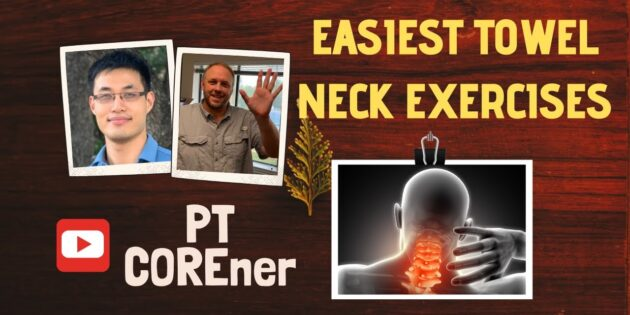 Easiest Way To Reduce NECK STIFFNESS With A TOWEL