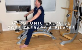 GYROTONIC Exercises for neck and back pain at CORE Therapy and Pilates