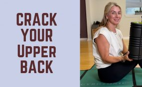 How to Crack Your Upper Back at Home