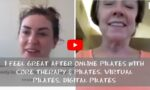 I FEEL GREAT AFTER ONLINE PILATES WITH CORE THERAPY & PILATES. Virtual Pilates. Digital Pilates (1)