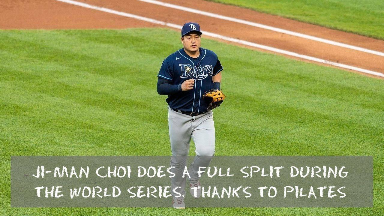 Ji Man Choi Does a Full Split During the World Series Thanks to Pilates