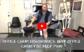 Office Chair Ergonomics Best Office Chair for Back Pain
