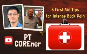 THREE FIRST AID TIPS To Relieve Intense Back Pain (BQ)