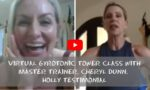 Virtual GYROTONIC Tower Class with Master Trainer, Cheryl Dunn. Holly Testimonial